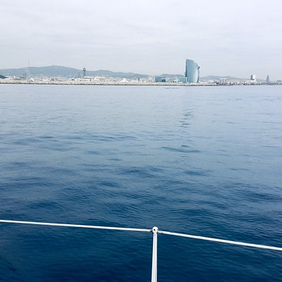 Barcelona from the sea👌