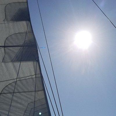 Sun + Sailing = Happiness