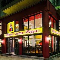 "casa della pizza ""το σπίτι της πίτσας στη Λαρισα απο το 1993"""