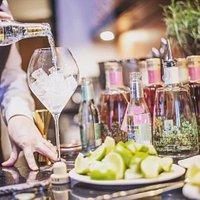 Gin bar and restaurant