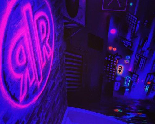 Enter the Hyper neon alley