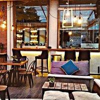 Cosy corners, both indoor and outdoor!