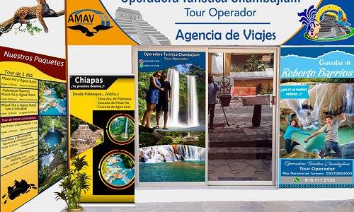 Operadora Turística Chambajlum, tu aliado para conocer Chiapas, contactanos Whatsapp: 916 111 2135 y 916 126 7735 o visita nuestra web. https://www.otchambajlum.com