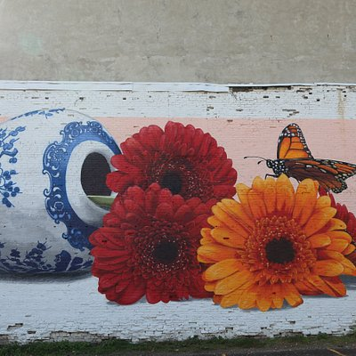 Bright Walls mural in Jackson, MI