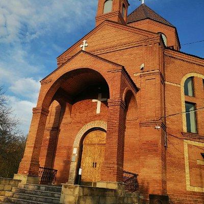 Армянская церковь Святого креста в бывшем Овраге подпольщиков (ныне - Постников овраг)