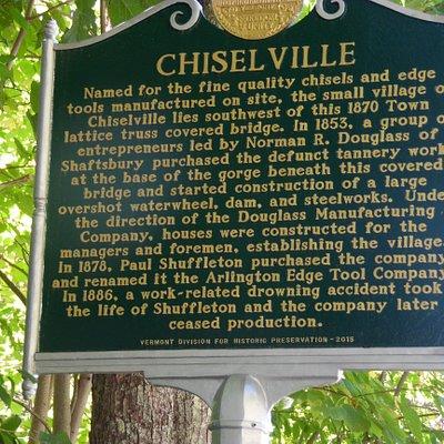 Chiselville Covered Bridge aka High Bridge