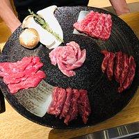 Essen - Fleischplatte zum grillen