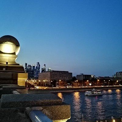 Вид на Сити с Бережковского моста