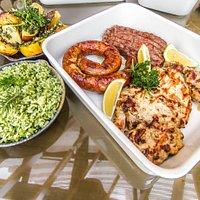 Menu Norton em família - pratos que servem de 3 a 4 pessoas. Válido para finais de semana e feriados.