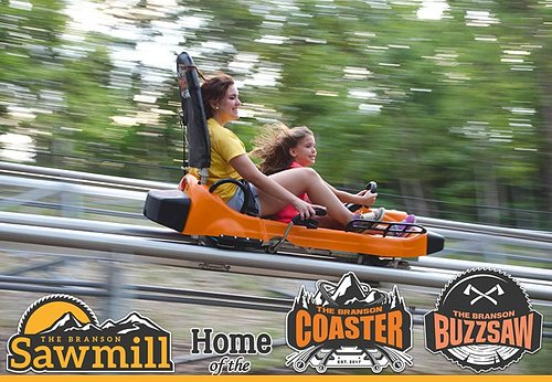 The Branson Sawmill! Home of The Branson Coaster and The Branson Buzzsaw!