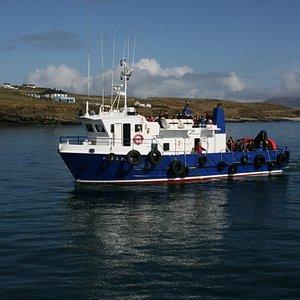 Sliabh Liag's only passenger cruiser
