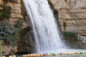 One of the famous waterfall in Iraqi Kurdistan