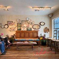 Indoor view of The Wooden Spoon, Wimberley Texas
