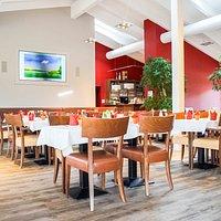 Genussvolle Stunden im regionales Restaurant beim Frühstücksbuffet, á la carte oder Sonntagsbrunch.