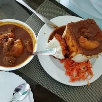 Curry and Rice & Mutton Bunny