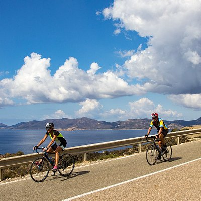 Cycling Tours in south coast Sardinia
