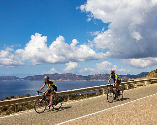 Cycling Tours in south coast Sardinia