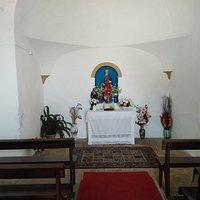 The Altar inside.