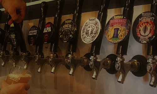 Our finest brews on tap