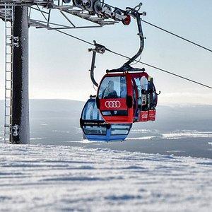 Levi Ski Resort Gondola2000