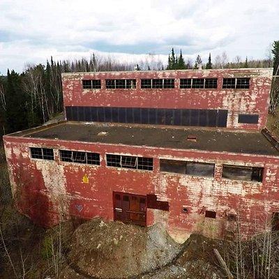Steep Rock mine building
