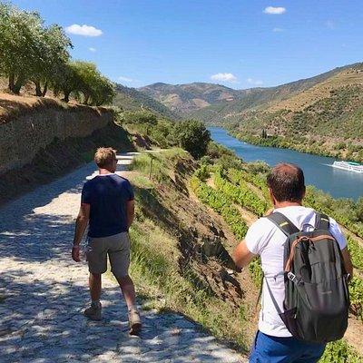 Near to Douro river