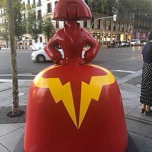 Vuelven las Meninas a las calles de Madrid. Sensacional exposición que engalana la ciudad.