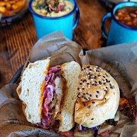 Sandwich de Pollo Frito.