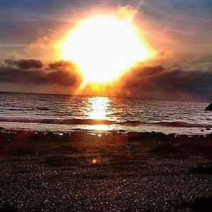 sunrise at Banton
