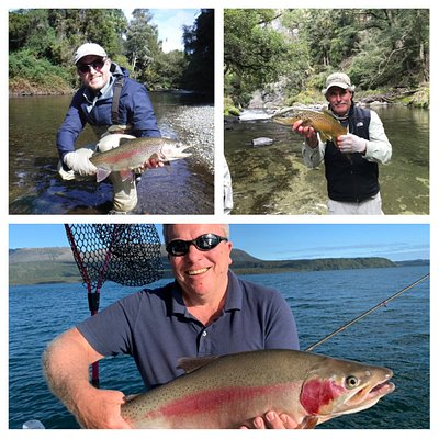 From the backcountry rivers and streams to fishing from the boat on Lake Tarawera there is an option for you, your friends and family.