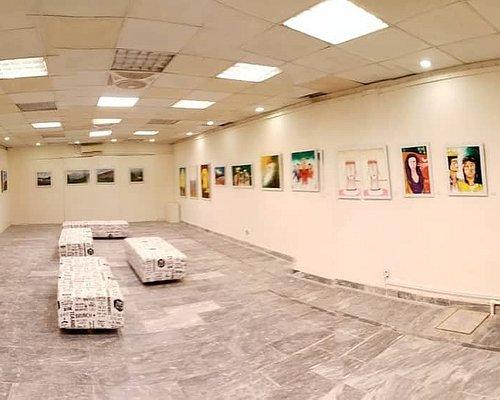 A view of Nukta Studios gallery