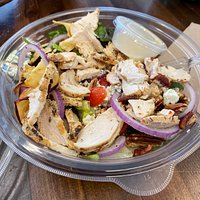 ordered Napa chicken salad as the protein and paid extra
