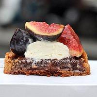Tarte Figue (5,20 €) – fig tart
