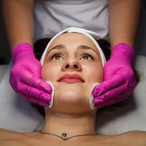 Сosmetology offer: - Face, neck, decollete massage  - Face cleaning  - Face cleaning + acid peeling  - VIP face cleaning  - Face cleaning  + PQAge  - Face cleaning  + Prx-t33  - Microdermabrasion  - Acid peels  - Care procedures  - Carboxytherapy  - Microneedling  - Mesotherapy  - Lip augmentation  - Face volumetry  - PDO threads
