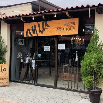 Ayla Boutique.  Located in downtown Cabo San Lucas in Plaza Real.