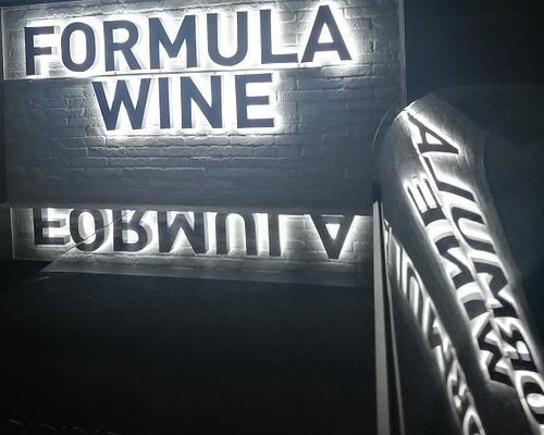 Formula (of) Wine bar offers an extensive variety of different wines. All wines are available by glass.
