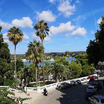 Mahon, die Hauptstadt von Menorca