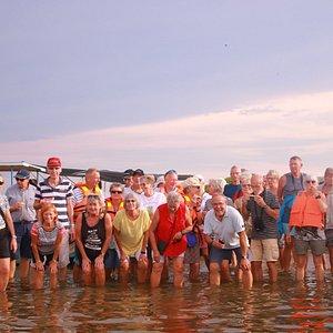 dutch canal & lagoon trip with Denmark group