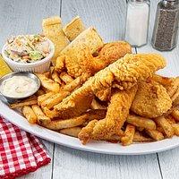 Crispy Catfish Platter