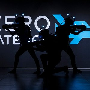 Zero Latency - Free-Roam VR - Not your usual VR experience.