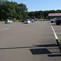 大型駐車場です。