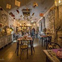 Arte e buon cibo...atelier Gustavino
