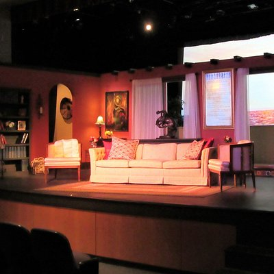 """The Providence Players of Fairfax set for their recent production of Agatha Christie's """"And Then There Were None""""."""