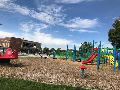 wheelchair ramp on playground
