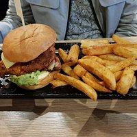 Chicken and Avocado Burger