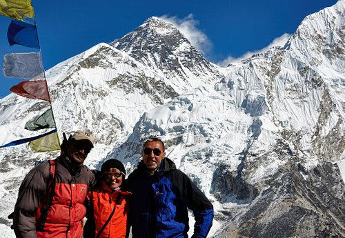 Kalapathar 5560 Meters. Everest View