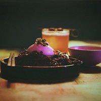 Sobarrata - Handmade fresh soba, pickled wood ear mushroom, 4P's burrata, shiitake broth, wasabi