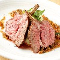 Char-grilled Lamb Chops w/Chumi-churi sauce