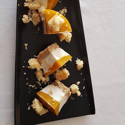 Cheesecake  del Cortiletto di Toscolano Maderno