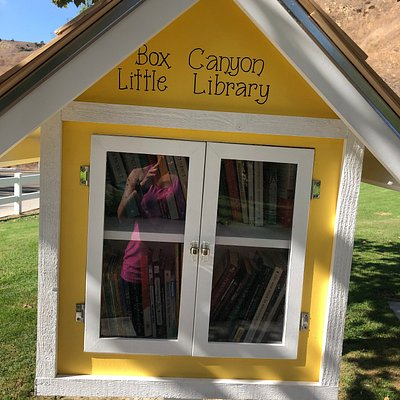 Visit the Free Little Library. Take a book, leave a book, and enjoy some quiet reading time for you and your children!